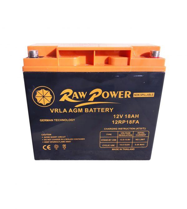 باتری 12 ولت 18 امپر ساعت