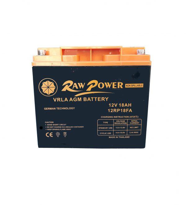 باتری 12 ولت 18راوپاور