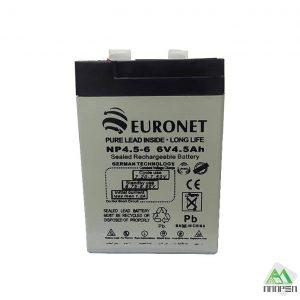 باتری 4.5 آمپر 6 ولت